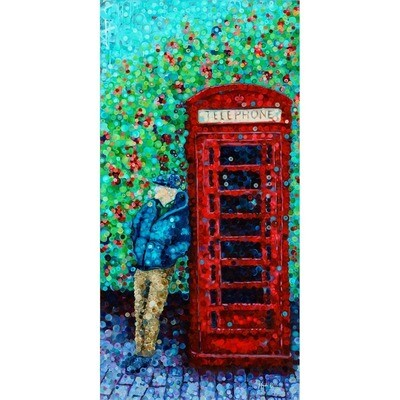 London Phone booth -- Heidi Barnett