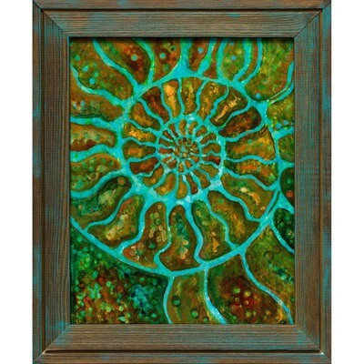 Ammonite in motion -- Heidi Barnett