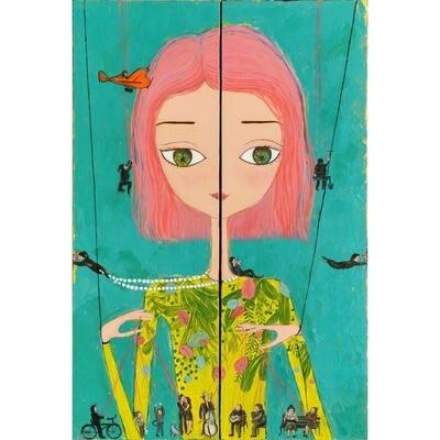 Free of strings -- Aziza Saliev