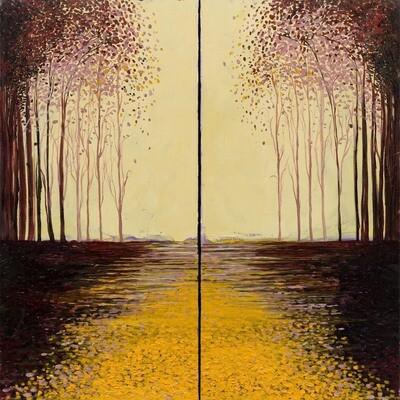 Autumn Forest -- Aziza Saliev