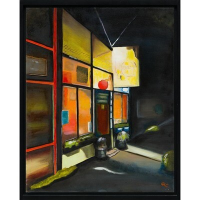 Night in West Seattle  -- Geraldine Le Calvez