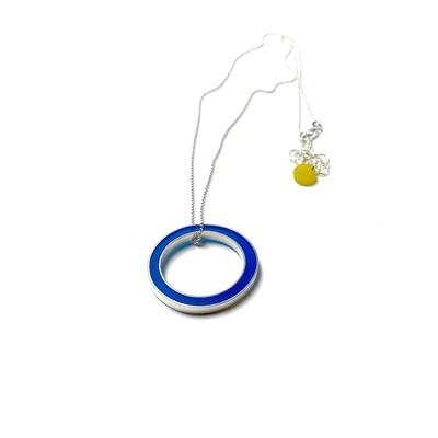 It's Okay Necklace Blue -- Jennifer Graves