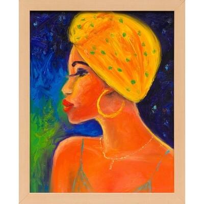 Yellow Scarf -- Leanna Leitzke