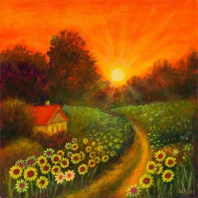 Sunset Farm -- Leanna Leitzke