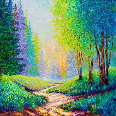 Into the Forest  -- Kimberly Adams