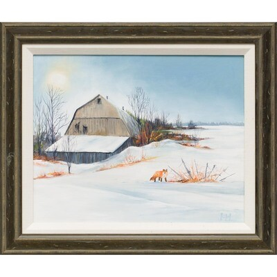 Old Barn -- Lois Haskell