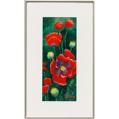 Poppin' Poppies -- Nancy R.Bradley