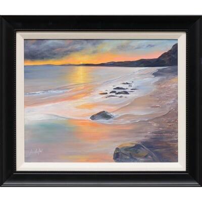 Sunset on the Coast -- Lois Haskell