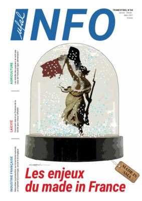 Abonnement annuel au journal Ufal Info