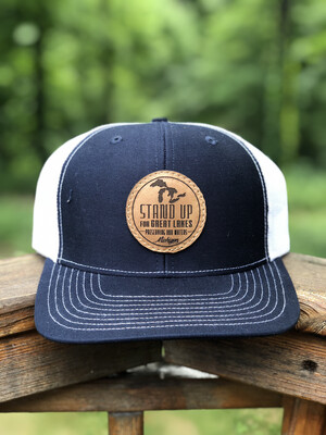 SUFGL Low Profile SnapBack Hat-Navy Blue