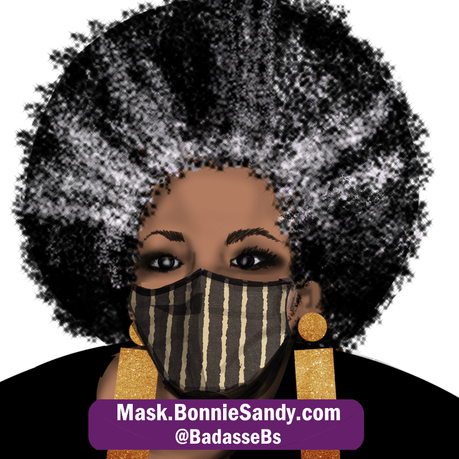 Mudcloth Face Cover Mask
