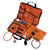 EMT Kit (includes stethoscope, 5 different sizes of blood pressure cuffs, and more)