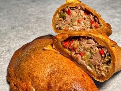 5 Stück Empanadas mit Rindfleisch-Fülle