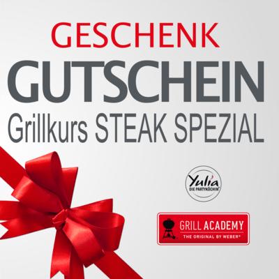 Gutschein Grillkurs Steak Spezial