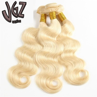 100g Brazilian virgin human hair blonde body wave