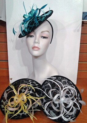 SS/Animal Disc Fascinator
