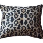 Silk Ikat Velvet Pillow