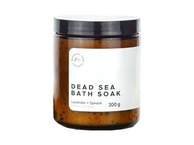 Lavender + Spruce Dead Sea Bath Soak