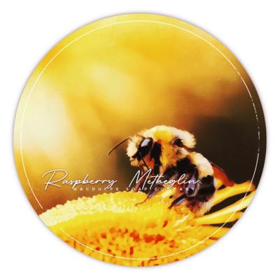 RASPBERRY METHEGLIN SHAVE SOAP (JUNE 16th)