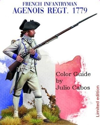 Julio Cabos Color Guide for the Agenios Regt 1779