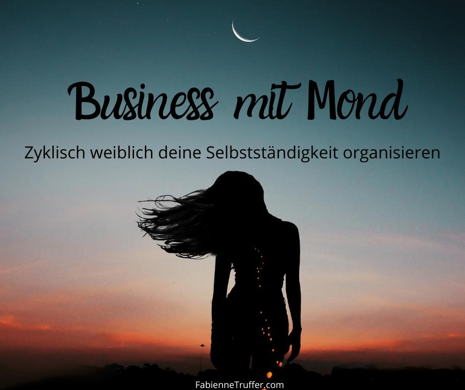 Business mit Mond