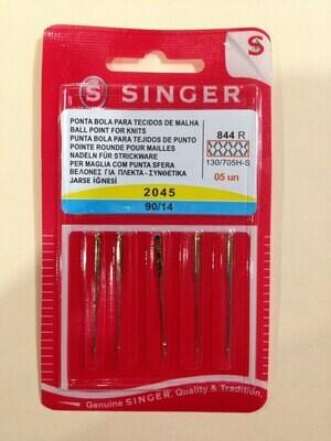 Aguja de máquina normal marca Singer