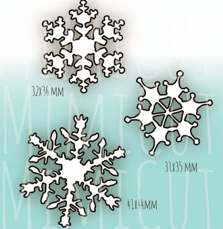 MIMICUT Metal Die Snowfall