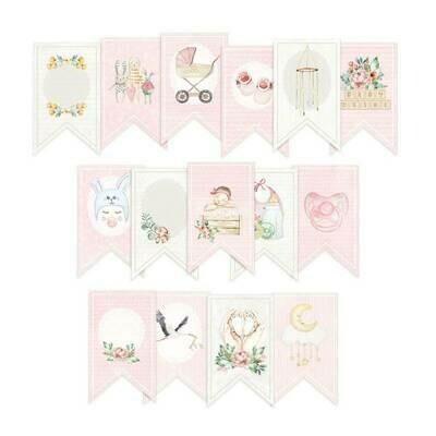 P13 Baby Joy paper die-cut banner 15 pcs