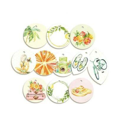P13 Sunshine Decorative tags 01 11 pcs