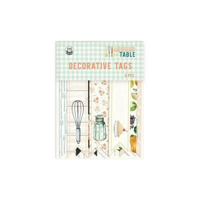 P13 Around The Table Decorative tags 03 9 pcs