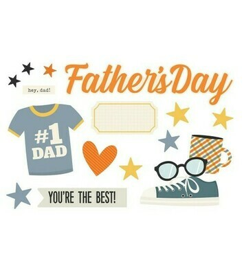 Simple Pages Page Pieces FATHER'S DAY