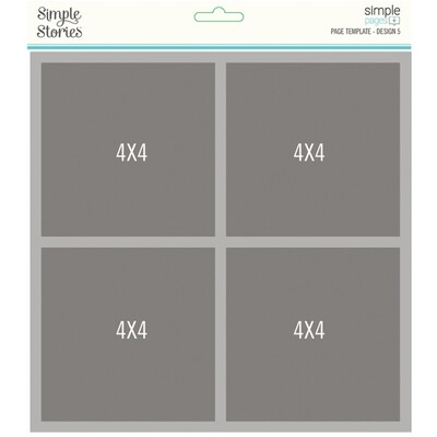 Simple Pages Page Template DESIGN 5