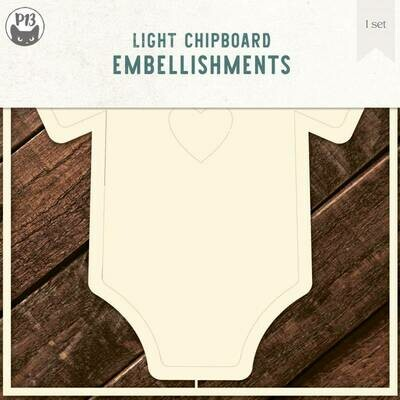P13 Light Chipboard Album Base BODYSUIT 01