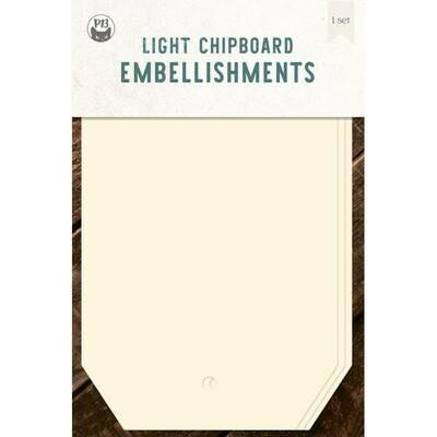 P13 Light Chipboard Album Base TAGS 01