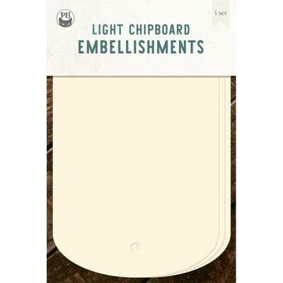 P13 Light Chipboard Album Base TAGS 03