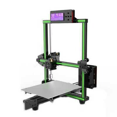 Anet E2 DIY Aluminum Alloy Frame 3D Printer Kit Low Noise 220*270*220mm Printing Size Support Soft Filament Print With Large LCD Screen