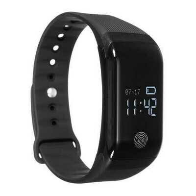 Bakeey H10 Pro Blood Pressure Oxygen Heart Rate Monitor Wristband Remote Camera Smart Watch for iOS Android