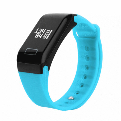 Single Touch Smart Bracelet Heart Rate Wristband Watch