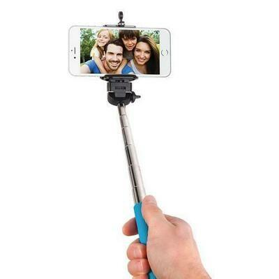 Smart Gear 42 Extendable Monopod Selfie Stick Blue