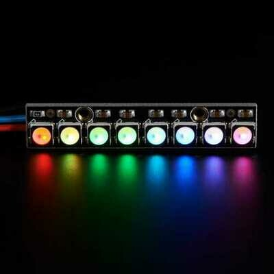 3Pcs Straight Board 8x 5050 RGBW Cool White LED 6000K Display With Integrated Drivers Module