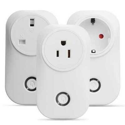 Smart Plug Smart  Wifi Socket Outlet Works with Amazon Echo Alexa Google Home US/UK/EU