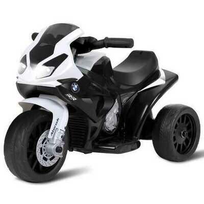6V Kids 3 Wheels Riding BMW Licensed Electric Motorcycle-Black