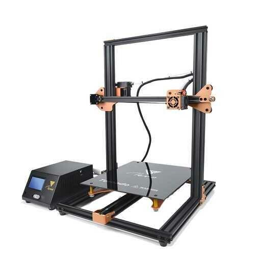 HOMERS/TEVO Tornado DIY 3D Printer Kit 300*300*400mm Large Printing Size 1.75mm 0.4mm Nozzle Support Off-line Print