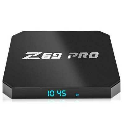 Z69 PRO Amlogic S905W 1GB RAM 8GB ROM TV Box with Time Display