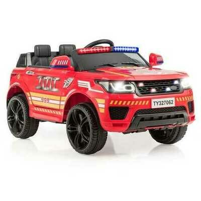 12V Kids Electric Bluetooth Ride On Car with Remote Control-Red