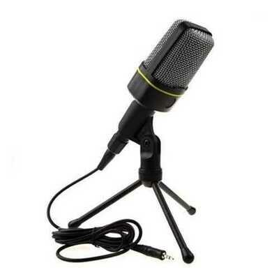 Podcast Studio Microphone with Tripod Skype Webcast