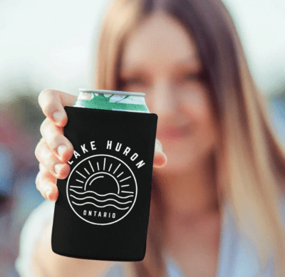 Custom Beer Cozie