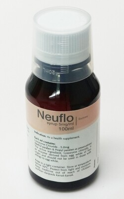 Neuflo Lysozyme 5mg/mL Syrup 100mL