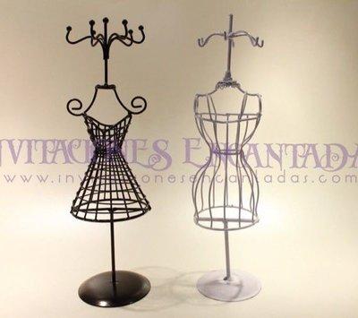 Joyero Vestido vintage Wire
