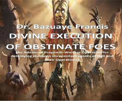 Divine Execution of Obstinate Foes